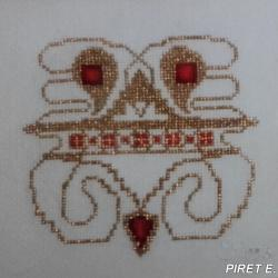 1997 - MORLANWELZ - Brodeuse originale - PIRET-1