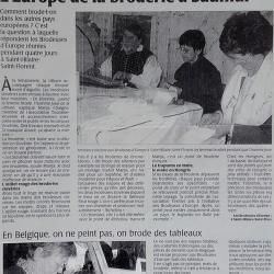 2007-05-07 -7- Les Brodeuses d'Europe - Saumur