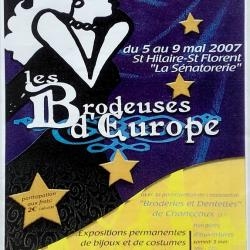 2007-05-07 -8- Les Brodeuses d'Europe - Saumur