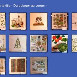 2010 Concours textile - Du potager au verger -