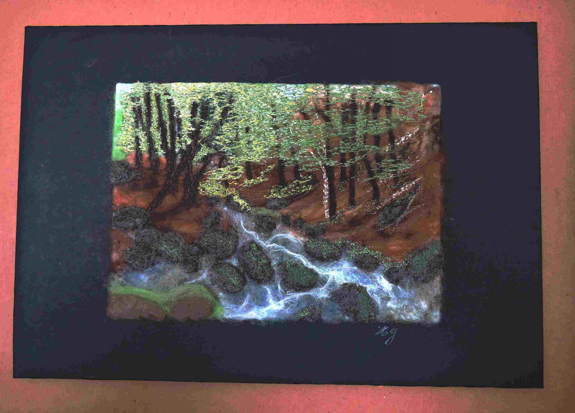 Atelier 11 - Paysage feutré
