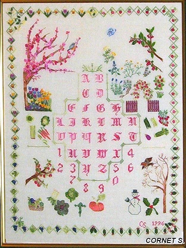 1996 - Les Abécédaires sur le thème du jardin