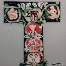 1997 - MORLANWELZ - INITIALES -1- WAUTY-bis