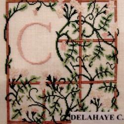 1997 - MORLANWELZ - INITIALES -3- DELAHAYE