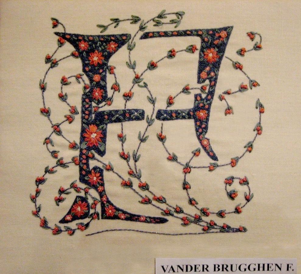 1997 - MORLANWELZ - INITIALES -4- VANDER BRUGGHEN