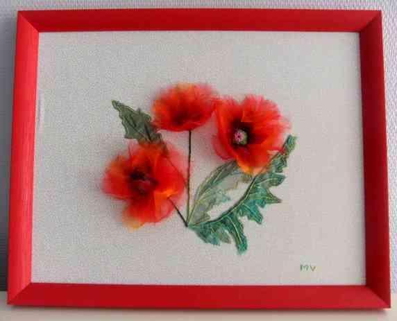 20 - Fleurs textiles